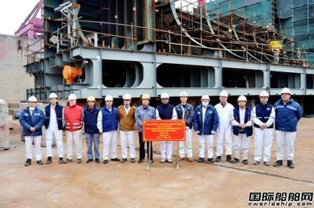 新时代造船两艘111000吨油船上台合拢