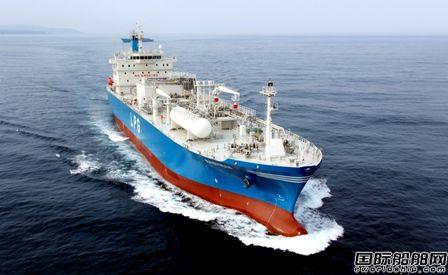现代重工集团再获两艘4万立方米LPG船订单