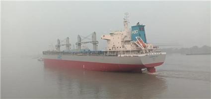 南通中远海运船务4艘开航1艘备航刷新单日完工记录