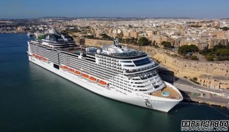 地中海邮轮公布今年夏季运营计划将继续执行健康安全规程