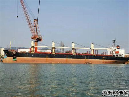 广东中远海运重工一季度连续完成7艘海损船修理