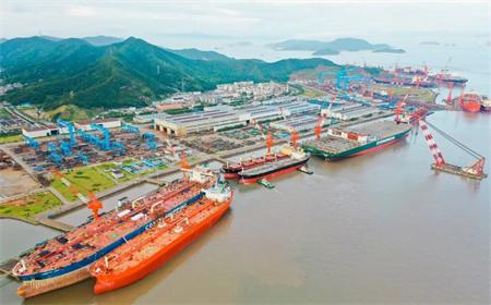 舟山中远海运重工超大型LNG双燃料动力船舶修理改装通过BVS安全风险评估审核