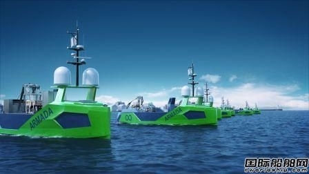 Palfinger首次为Armada公司8艘无人船提供甲板设备