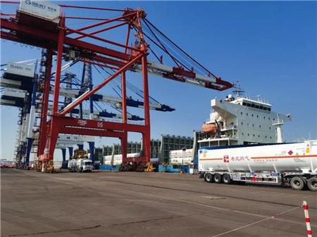 中集安瑞科助力LNG专船进口运输模式创新
