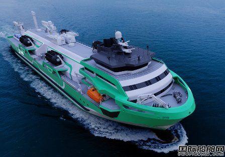 欧洲船企推出可定制气体燃料加注船设计