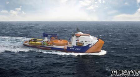 Red Rock获Van Oord新造铺缆船起重机订单