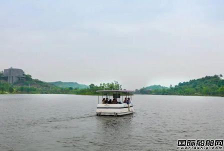 国内首艘L4级别无人驾驶游船在渝首航