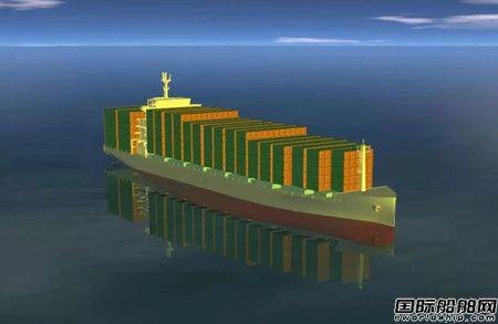 黄埔文冲再获4艘1900TEU集装箱船订单