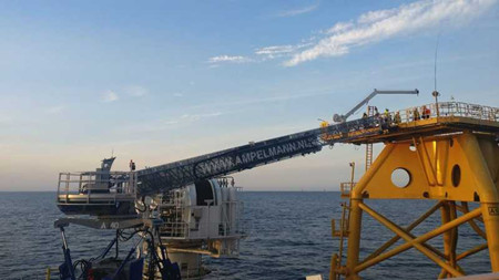 AMPELMANN助力台湾地区海上风电场建设