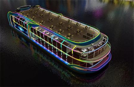 七一一所再获380客位新能源客船纯电动力系统供货合同