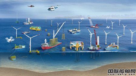 中集来福士拓展海上风电市场打造面向未来的浮式风机