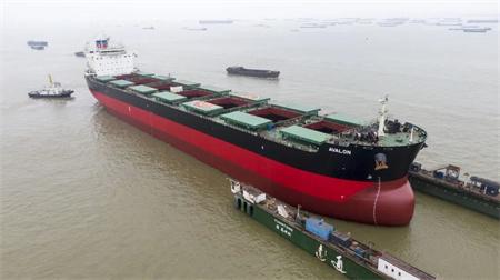 """南通中远海运船务按期完成""""阿弗隆""""轮修理"""