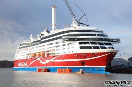 """维京游轮""""Viking Grace""""号完成旋筒风帆技术测试"""
