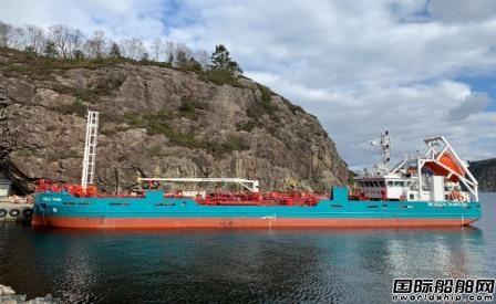 Hoglund助力挪威首艘LNG燃料加注船完成试航