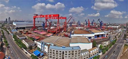 沪东中华造船提速7天完成10个重大节点