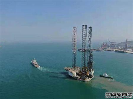 青岛武船交付国内首个钻井平台改造风电安装平台