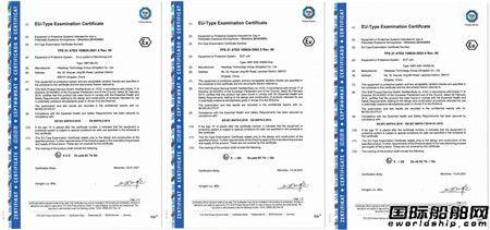 海德威压载水处理系统正式取得欧盟ATEX防爆认证