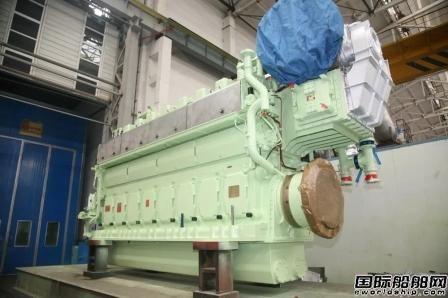 陕柴重工大发8DKM-28e柴油机首次配套全回转拖轮