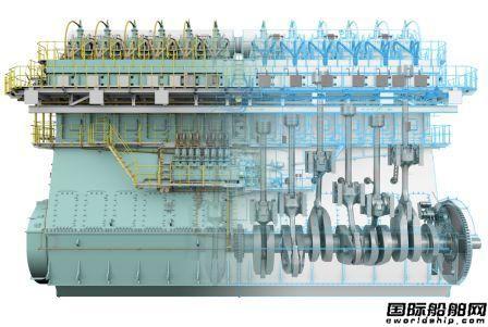 中船动力WinGD双燃料动力主机再获达飞22艘船超级大单