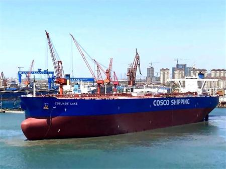 """大连中远海运重工高质量完成""""远翠湖""""改装工程"""