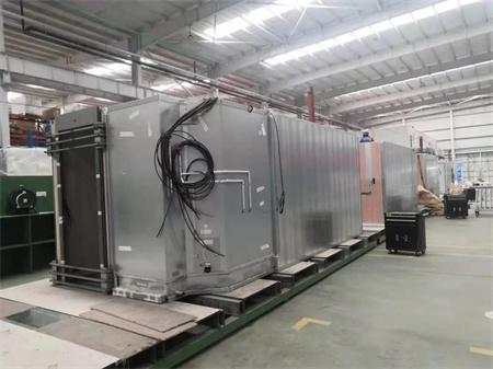 威海金陵推进STENA公司第7艘客滚船舱室单元制作工程