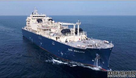 沪东中华建造全球最大LNG加注船法国完成首秀
