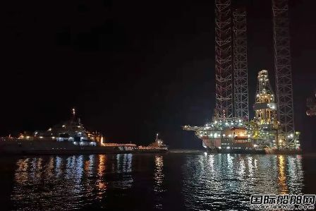 """中国船厂""""跟风""""?又一座库存平台改装风电安装平台"""