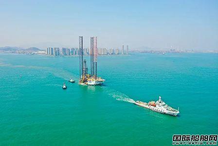 外高桥造船交付首艘改装海上风电安装平台