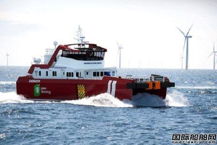 日本邮船与NOS签署风电场人员转运船光租合同
