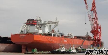 舟山中远海运重工冲刺15.2万吨穿梭油轮N728船试航节点