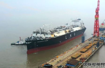 刷新纪录!国内首艘LNG-FSRU船气体试航凯旋