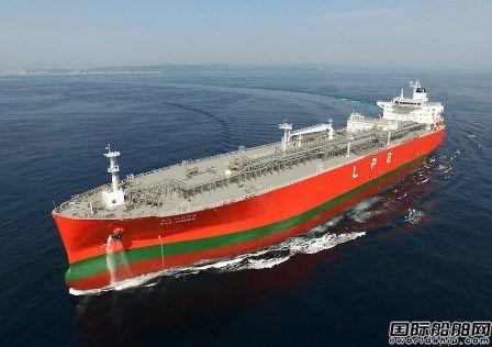 现代重工集团获KSS海运两艘86000方VLGC订单