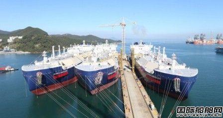 船坞爆满!订单暴增!韩国造船业重现繁荣