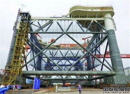 中集来福士交付亚洲最大量产型深海智能网箱
