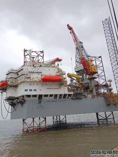 外高桥造船H1349钻井平台完成月池钻井设备连续负载试验