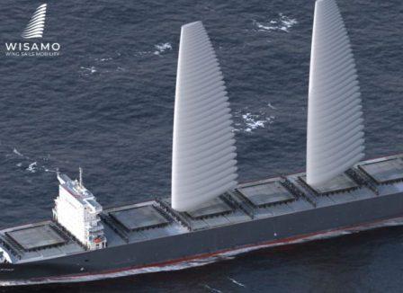 """米其林跨界研发""""充气""""风帆助力航运业脱碳"""