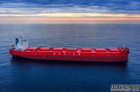 南通中远海运川崎交付1艘82000吨散货船