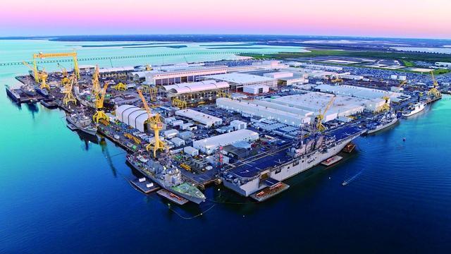 美国最大海军造船厂扩招3000工人或针对中国