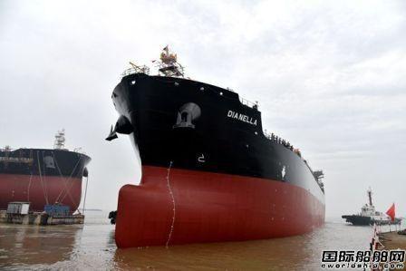 新时代造船2艘50000吨化学品油船提前下水