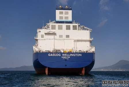三星重工交付GasLog第3艘18万方LNG船