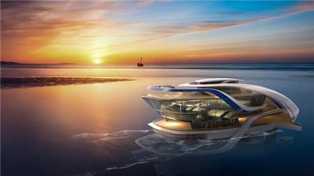 中集海工海上平台概念获中国美术学院毕业设计金奖