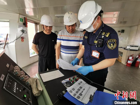 洋山港海事局推动船舶稳性计算走向智能化