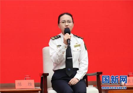 陈维,她用无人机嗅探查获全国首起船舶燃油硫超标案