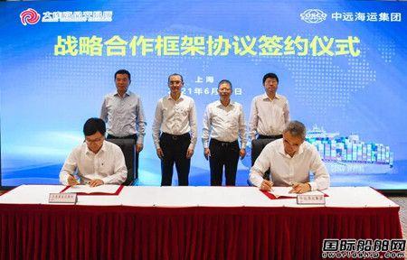 中远海运集团与大连商品交易所签署战略合作协议
