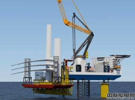 Friede&Goldman推出新型海上风场安装船概念