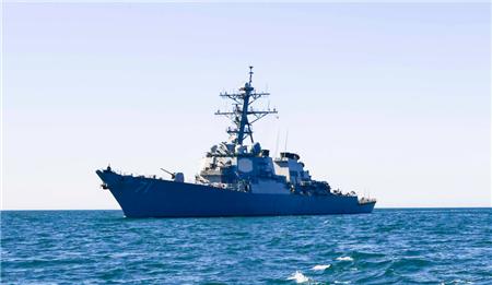诡异!美军驱逐舰停在港口AIS信号却显示其正逼近克里米亚