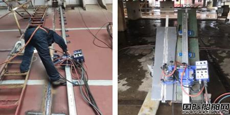 黄埔文冲攻克45°气电立焊焊接工艺应用技术