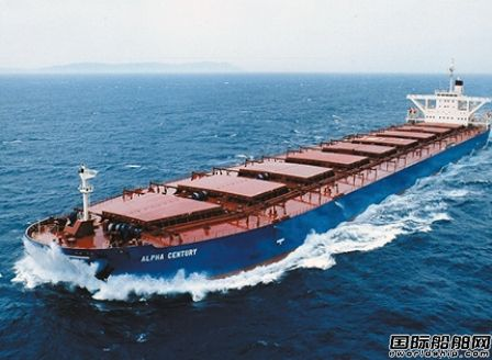 外高桥造船获Alpha Bulkers两艘21万吨散货船订单