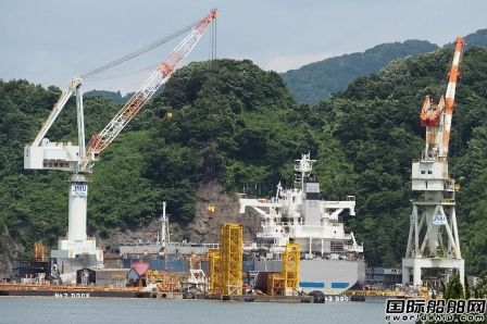 日本造船业技术工人首次降至1万人以下