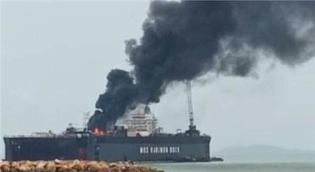 油轮起火!印尼这家船厂一周内两度发生火灾